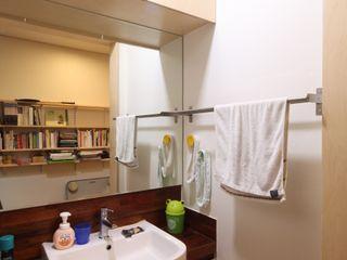 도곡리 주택 위드하임 Withheim 現代浴室設計點子、靈感&圖片 Wood effect