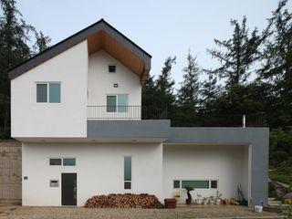 도곡리 주택 위드하임 Withheim 現代房屋設計點子、靈感 & 圖片 White