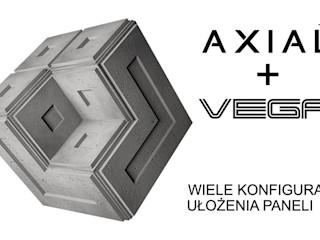 ZICARO - producent paneli 3D مراكز تسوق/ مولات سيراميك Grey