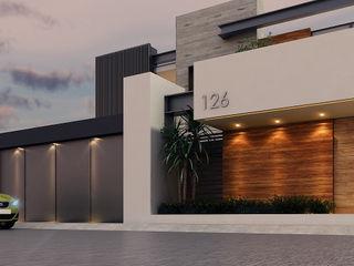 Besana Studio Modern houses Beige