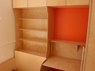 Child's bedroom TreeSaurus RecámarasBurós Madera Acabado en madera