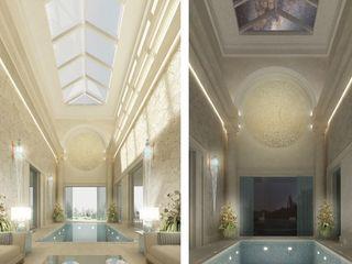 Exquisite Indoor Pool Design Ideas IONS DESIGN Pool Limestone Beige