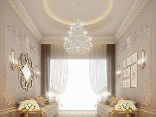 Stylish Sitting Room Design IONS DESIGN Living room Copper/Bronze/Brass Beige