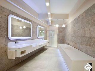 Grassi Pietre srl Modern style bathrooms Stone