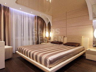 PERFECT & AFFORDABLE LDA Modern style bedroom Glass Beige