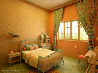 Teen's Room Shreya Bhimani Designs Modern Bedroom