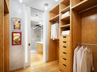 Lilian H. Weinreich Architects 現代浴室設計點子、靈感&圖片 竹
