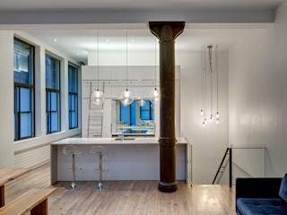 Lilian H. Weinreich Architects 現代廚房設計點子、靈感&圖片 石英