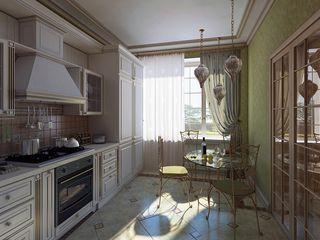 Design studio of Stanislav Orekhov. ARCHITECTURE / INTERIOR DESIGN / VISUALIZATION. Cuisine classique