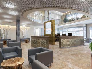 Design studio of Stanislav Orekhov. ARCHITECTURE / INTERIOR DESIGN / VISUALIZATION. Locaux commerciaux & Magasin modernes