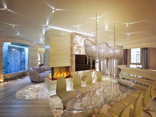 Design studio of Stanislav Orekhov. ARCHITECTURE / INTERIOR DESIGN / VISUALIZATION. Salle à manger moderne