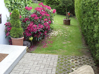 Hausgarten in Coburg - zeitgemäß umgestaltet KAISER + KAISER - Visionen für Freiräume GbR