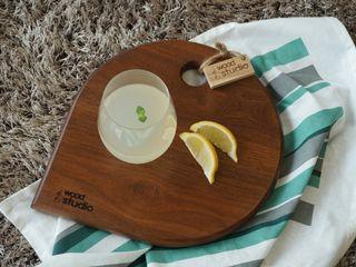 홍스목공방 KitchenCutlery, crockery & glassware Kayu Brown