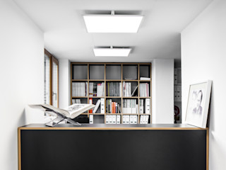 RK Next Architekten Modern Koridor, Hol & Merdivenler