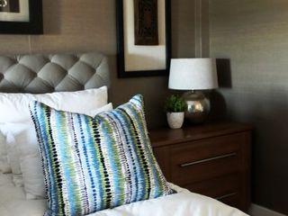Margaret Berichon Design Classic style bedroom Wood Multicolored
