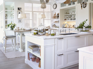 DEULONDER arquitectura domestica Dapur Gaya Rustic White