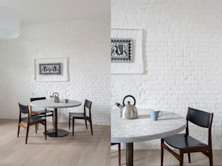 Fabio Azzolina Architetto Salle à manger originale Blanc
