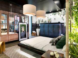 Egue y Seta Camera da letto in stile mediterraneo