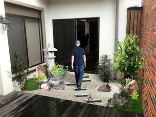 Jardín japonés estilo Tsuboniwa Deco Zen Design