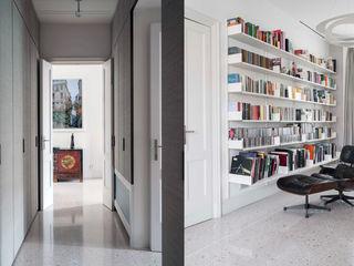 Fabio Azzolina Architetto Couloir, entrée, escaliers classiques