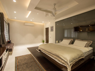 A360architects 臥室床與床頭櫃