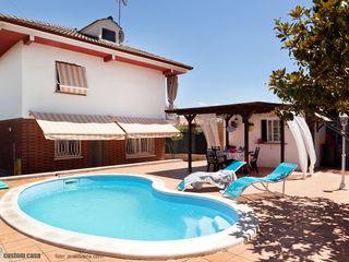 custom casa home staging Mediterraner Balkon, Veranda & Terrasse