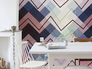 Dining room Pixers Eclectic style dining room Multicolored