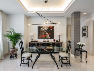 Laura Yerpes Estudio de Interiorismo Eclectic style dining room