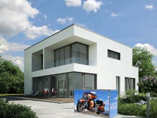 Mülltonnenbox ToPaBox Rollomeister Balkon, Veranda & TerrasseMöbel Aluminium/Zink
