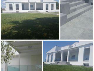 UNA RESIDENZA ESTIVA TRA MARE E CAMPAGNA: MATERIALI BIO E NATURALI SERENA ROMANO' ARCHITETTO Case moderne