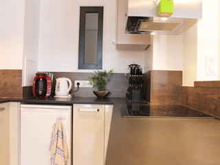 Agence ADI-HOME Dapur Modern Granit Black