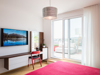 Projekt Familie H. Kathameno Interior Design e.U. Moderne Schlafzimmer