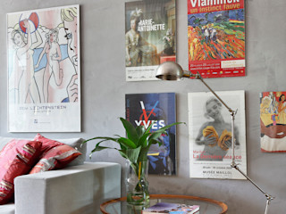 MUITAS CORES Casa de Valentina Sala de estarAcessórios e Decoração