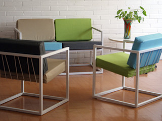 CASA-BE Living roomSofas & armchairs Iron/Steel
