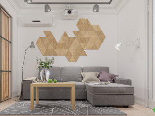 Polygon arch&des Living room