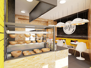 Ale design Grzegorz Grzywacz Scandinavian style kitchen
