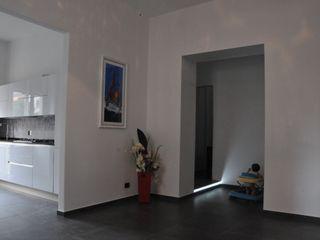 ArchitetturaTerapia® 现代客厅設計點子、靈感 & 圖片 White