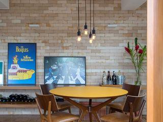 Imponente contemporâneo Casa de Valentina Sala de jantarAcessórios e decoração