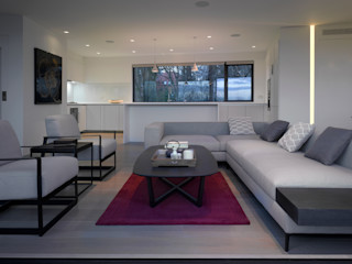 Nutley Terrace Belsize Architects Living room