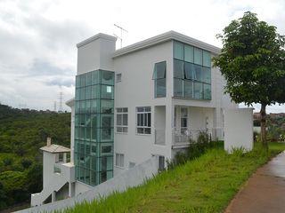 Atelier Plural Modern Houses Glass White