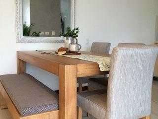 Cristina Cortés Diseño y Decoración Dining roomTables Kayu