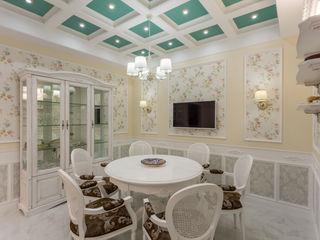 Bellarte interior studio Ruang Makan Klasik White