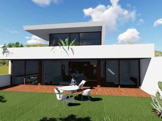Vivienda RyML ESTUDIOMORENATE Casas de estilo mediterráneo