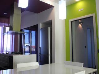 Officina design 現代廚房設計點子、靈感&圖片 Green