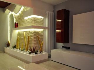 Officina design 現代風玄關、走廊與階梯 石器