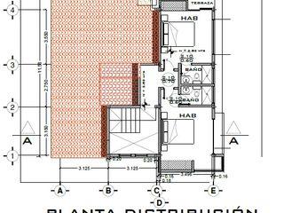 Arquitecto Eduardo Carrasquero Modern style bedroom Engineered Wood
