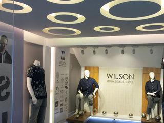Showroom interior design Axis Group Of Interior Design Shopping Centres Yellow
