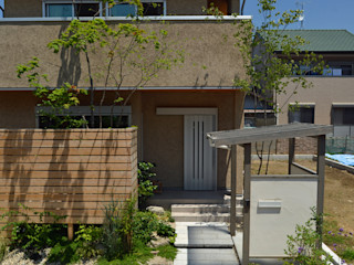 T's Garden Square Co.,Ltd. Casas de estilo asiático