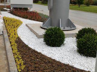 SHELL BENZİN İSTASYONU Peyzaj Proje ve Uygulaması konseptDE Peyzaj Fidancılık Tic. Ltd. Şti. Modern Bahçe