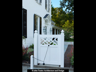 John Toates Architecture and Design Classic style houses White